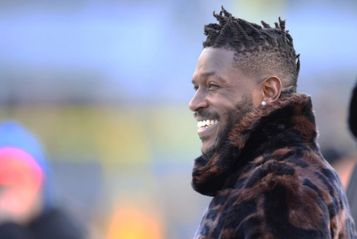 Brown, 31, who is about to start his 10th National Football League season after orchestrating a last-minute move to the Patriots from the Pittsburgh Steelers, denied all of the accusations through his lawyer, claiming the two had consensual sex. Charles LeClaire-USA TODAY Sports/File Photo