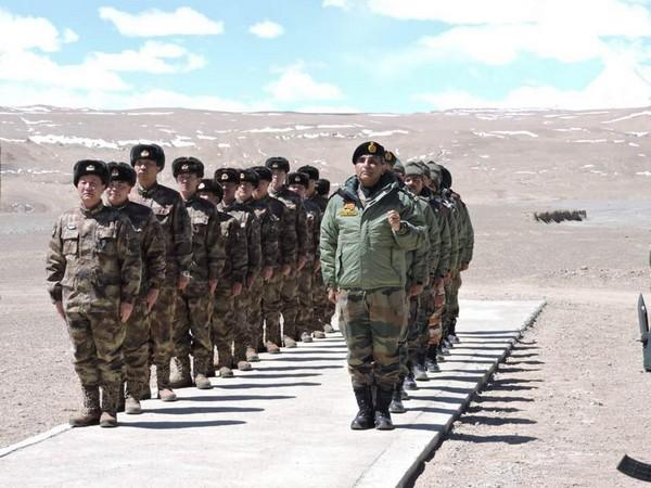 The faceoff between the soldiers of the two countries began on the northern bank of the 134-km-long Pangong lake soon after dawn. (Photo/ANI)