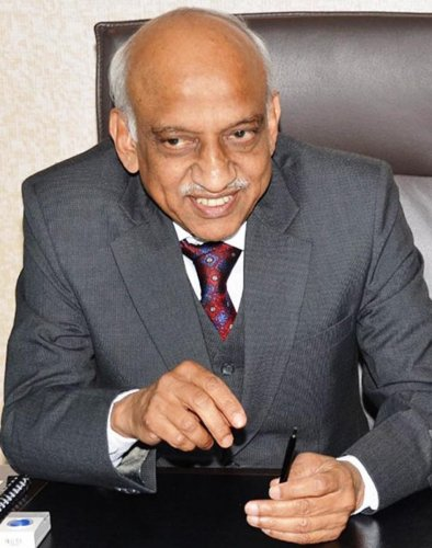 Former ISRO chief A S Kiran Kumar (DH File Photo)