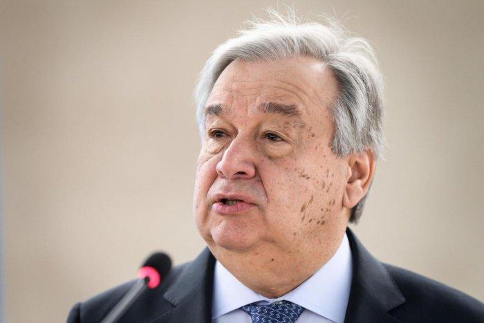 UN Secretary General Antonio Guterres. (AFP File Photo)