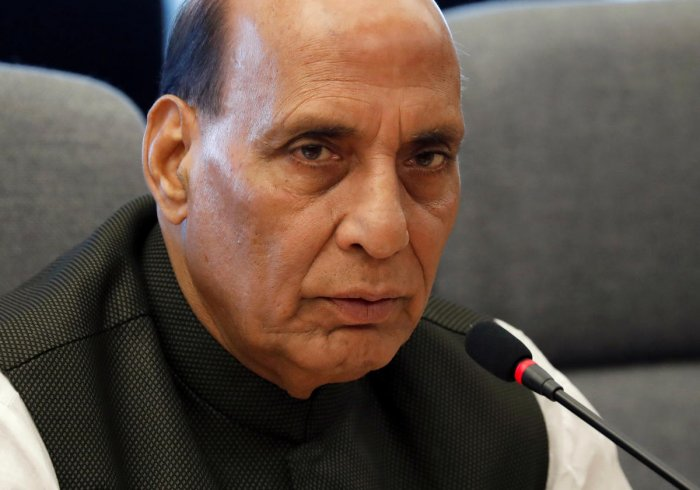Defence Minister Rajnath Singh. (Reuters File Photo)