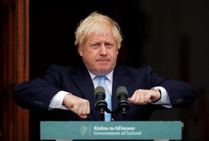 British Prime Minister Boris Johnson (photo by Reuters)