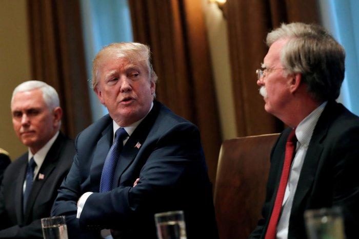Donald Trump and John Bolton (File Photo)