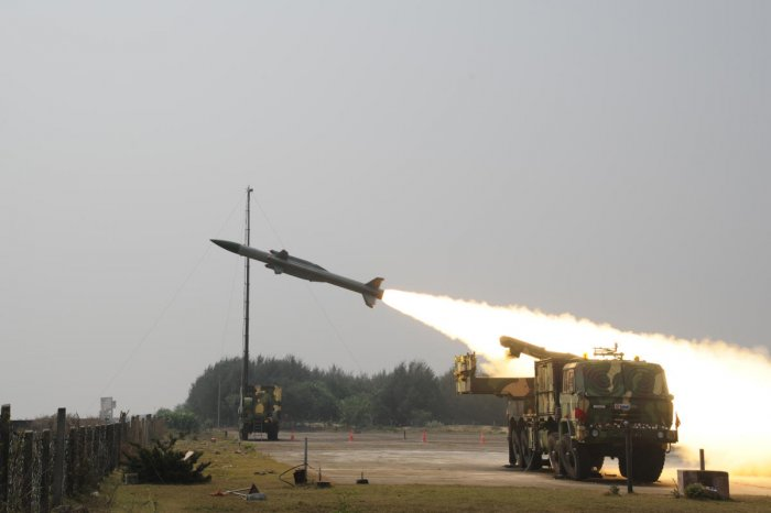 The Centre has approved the procurement of seven additional squadrons of Akash missiles (500 to 600 units) for the Indian Air Force at a total cost of Rs 5,500 crore.