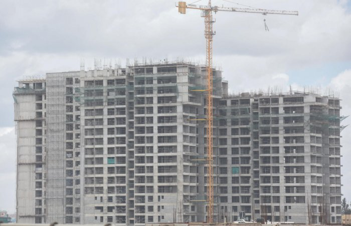 Construction activities have slumped by over 50% in the last two to three years in the city.