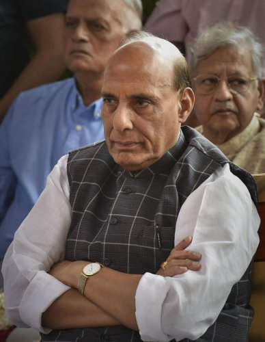 Union Defence Minister Rajnath Singh (PTI Photo)