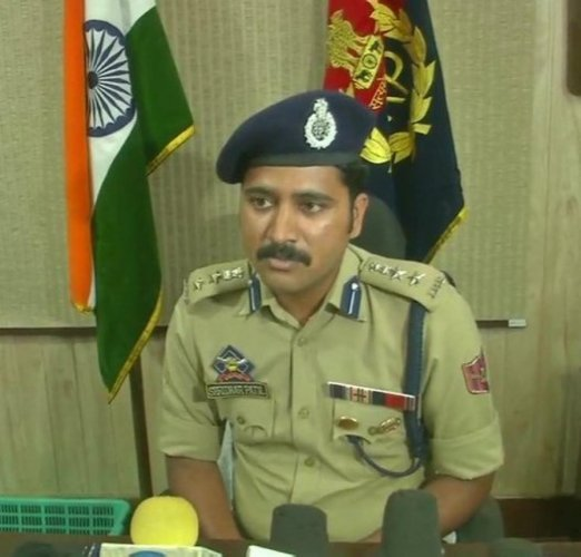 "Senior Superintendent of Police Kathua said they were illegally transporting arms and ammunition to Kashmir from Punjab to ""disturb peace in the Valley"". Photo/Twitter"