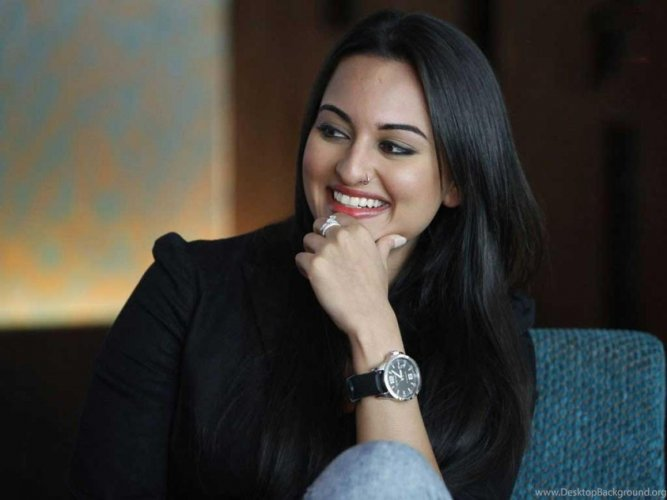 Sonakshi says she does not believe in presenting a facade when she is out or interacting with people as being fake does not take anyone anywhere. (File Photo)