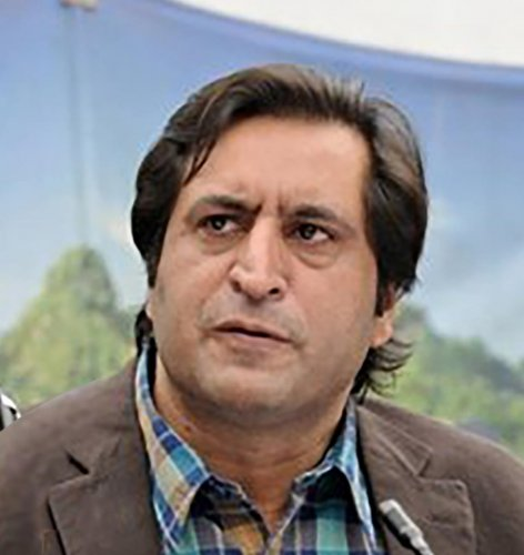 The Sajjad Lone-led JKPC has filed the petition through its spokesperson Adnan Ashraf, seeking President's Rule in the state be declared unconstitutional and void. DH File Photo
