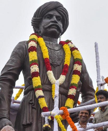Bengaluru founder Kempegowda. (DH Photo)