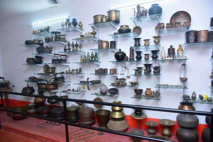 The museum in Kalladka, Dakshina Kannada, belongs to Yasar, a collector.