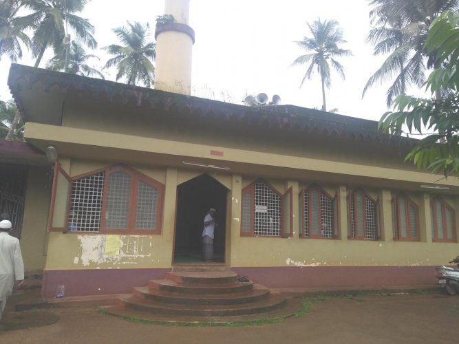 The historic Ghousia Mosque.