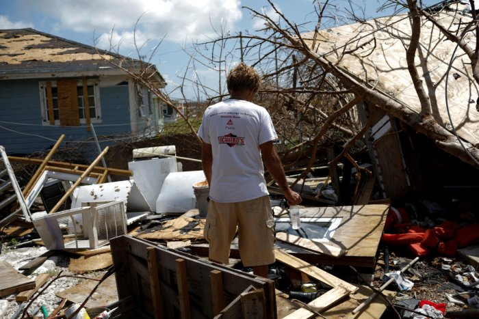 They search amid alarming reports that 1,300 people remain listed as missing nearly two weeks after Hurricane Dorian hit the northern Bahamas. (Reuters photo)