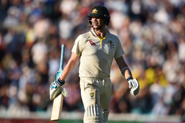 Smith, likely to regain the captaincy once his leadership ban expires next year, could conjure only a tepid defence of his teammates after they showed scant resistance against the marauding Jofra Archer and a swinging Sam Curran. (AFP Photo)