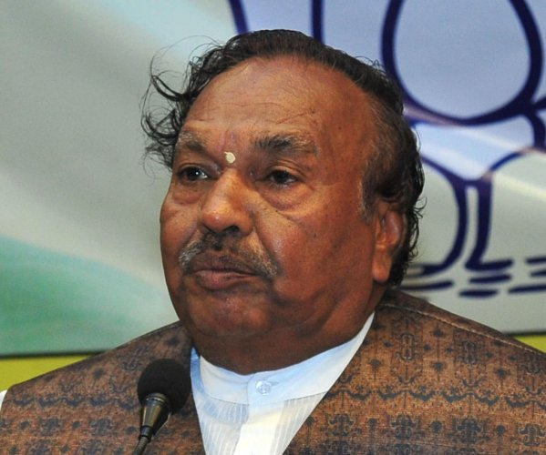 Rural Development and Panchayat Raj Minister K S Eshwarappa. (DH File Photo)