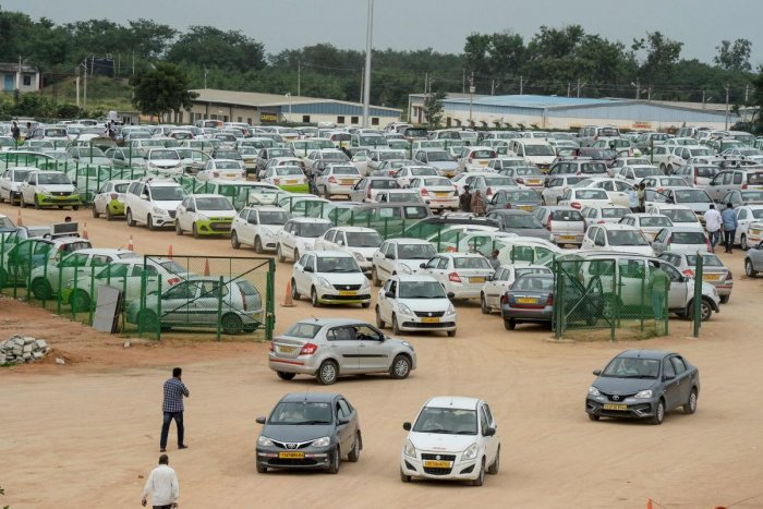 A year ago, India displaced Germany to become the world's fourth-biggest car market, having clocked up annual sales growth above seven percent for several years. AFP Photo