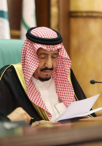 Saudi King Salman bin Abdulaziz. (Photo by AFP)