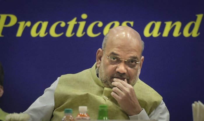 In a tweet, the Left leader attached a video grab of Shah in Parliament last month, in which the home minister said Abdullah was neither detained nor arrested. Photo/PTI