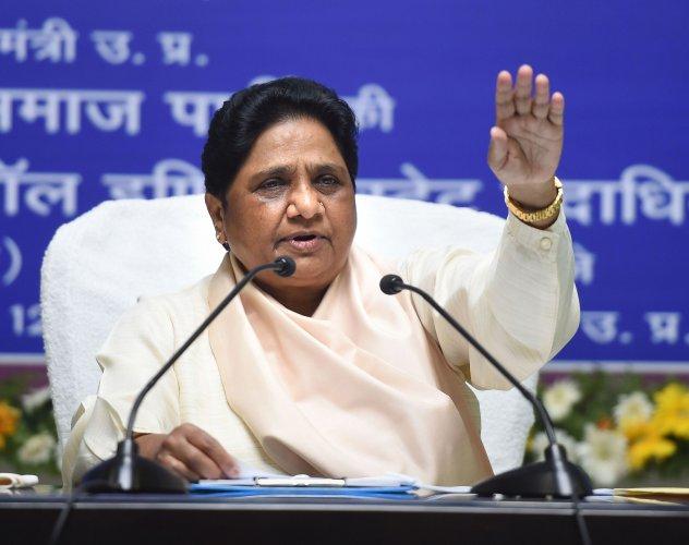 BSP Supremo Mayawati. (PTI Photo)