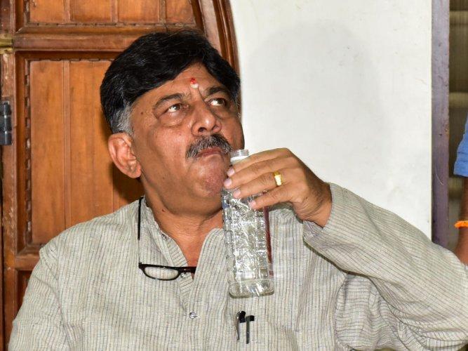 Congress leader D K Shivakumar