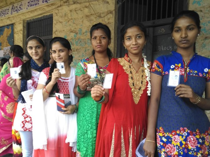 During the drive, enrollment of first-time voters will be given priority. DH File photo