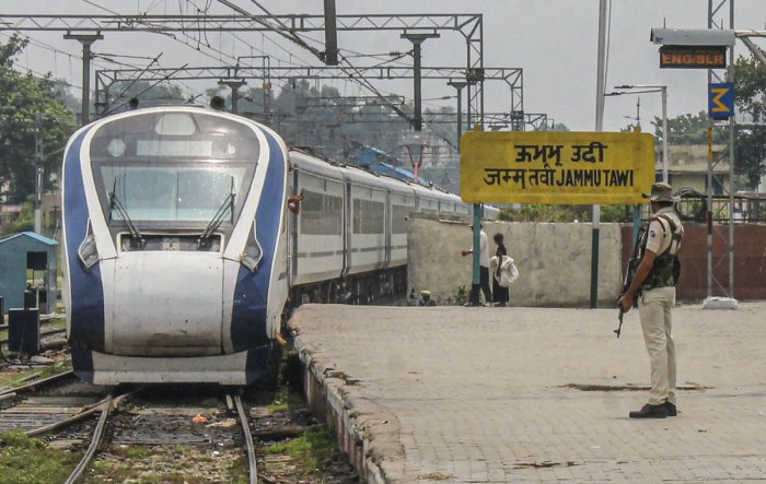 The second Vande Bharat Express will run on the high traffic Delhi-Katra route before festival season. (PTI Photo)