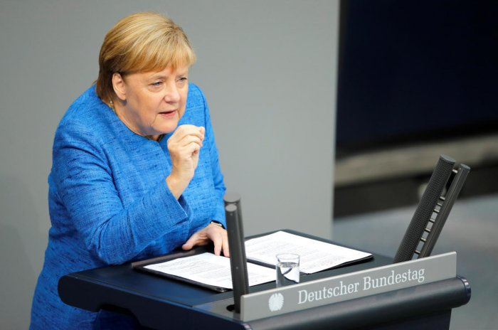 Diplomatic sources said Germany, the biggest net contributor to the bloc's joint coffers, would present the proposal to fellow ministers on Monday. Reuters Photo