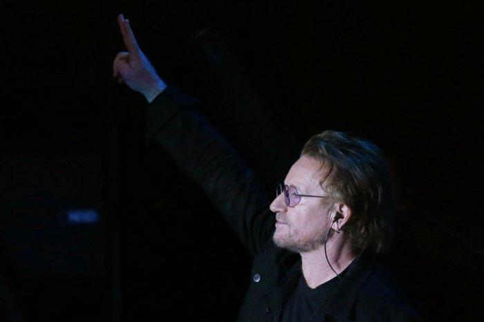 Bono, U2 singer. Reuters photo