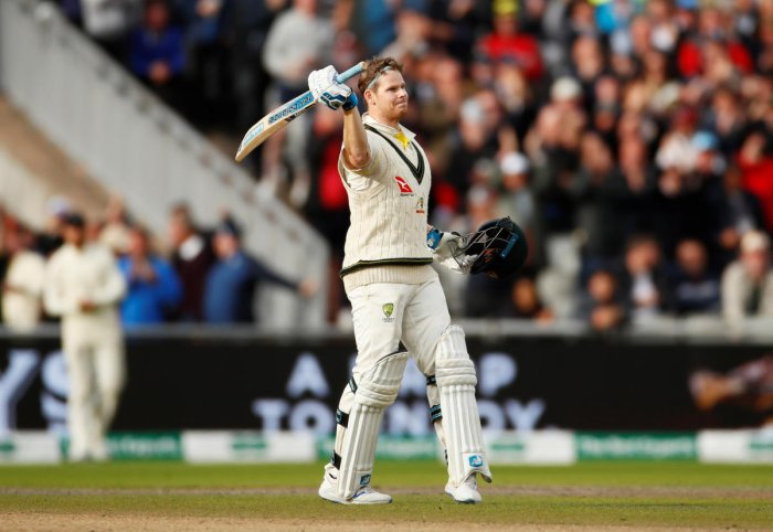 File Reuters photo of Steve Smith