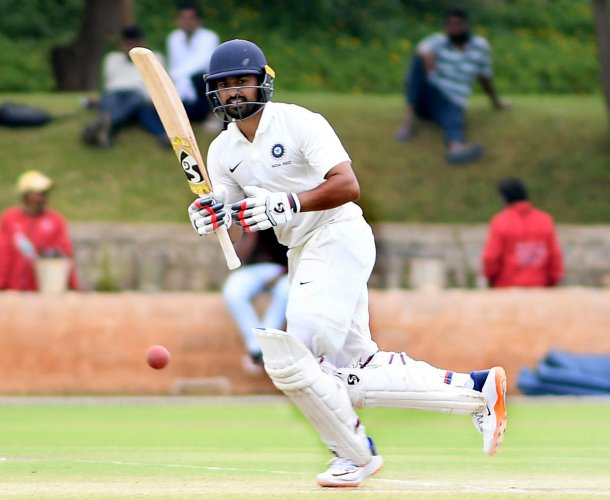 India A will look to finish the series on a high when they take on South Africa A in the second and final four-day game in Mysuru. DH FILE PHOTO