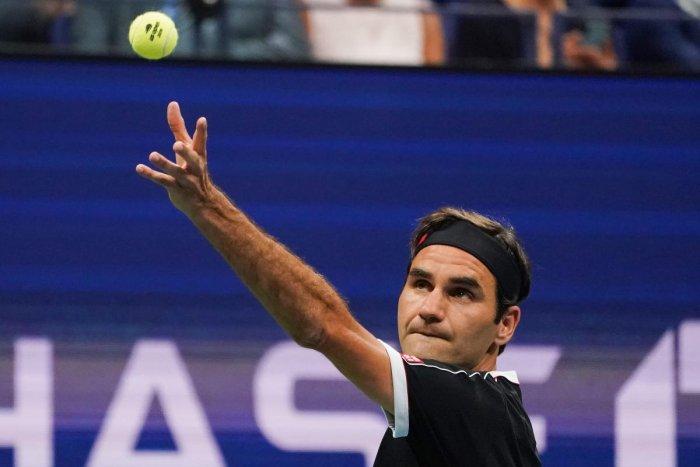 Roger Federer of Switzerland (Photo by AFP)