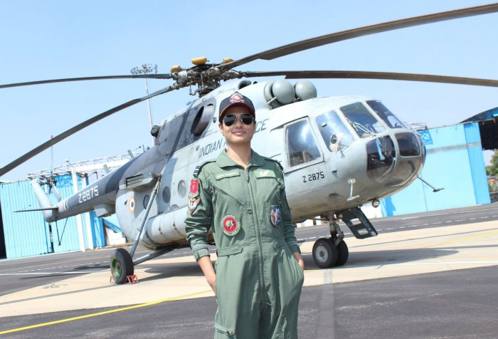 Flight Lieutenant Hina Jaiswal has created history by becoming the first Indian Woman Flight Engineer. She successfully completed the Flight Engineers' course at 112 Helicopter Unit attached to the Air Force Station, Yelahanka here.