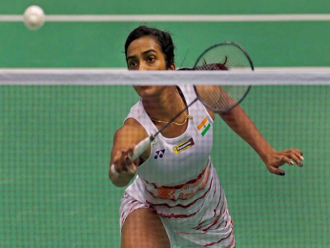 Sindhu, an Olympic silver medallist, squandered a first-game advantage to go down 12-21 21-13 21-19 to Pornpawee in a match that lasted 58 minutes. AP/PTI file photo