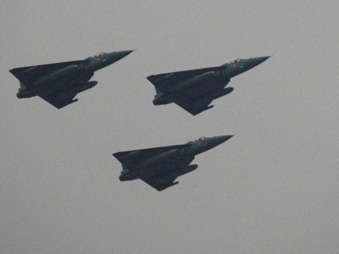 The Hindustan Aeronautics Limited (HAL) has been given the nod to manufacture the weaponised version of Light Combat Aircraft (LCA) Tejas for the Indian Air Force and the first such aircraft is expected to be out by the year-end, according to a company spokesperson. PTI file photo