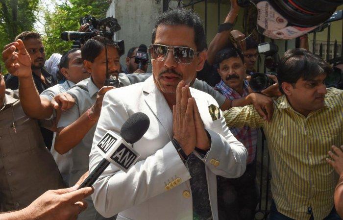Robert Vadra, Indian businessman and husband of Indian politician Priyanka Gandhi. (AFP Photo)
