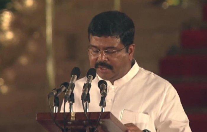 Union Steel Minister Dharmendra Pradhan. (File Photo)