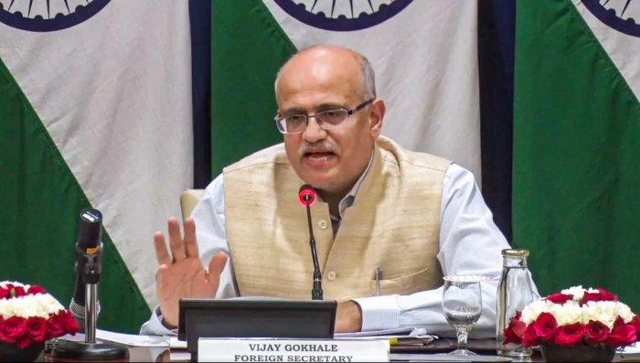 Foreign Secretary Vijay Keshav Gokhale. (PTI File Photo)