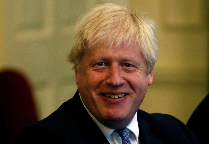 British Prime Minister Boris Johnson. (AFP PHoto)