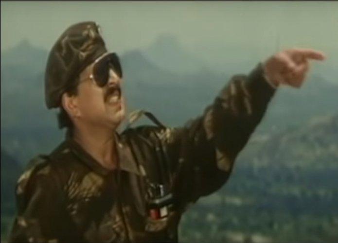 Vishnuvardhan played a commando in Nishkarsha.