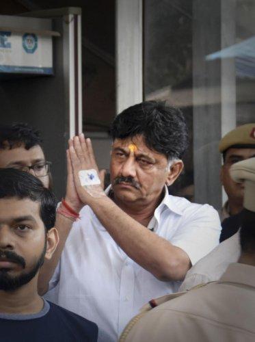 Congress leader DK Shivakumar. (PTI Photo)