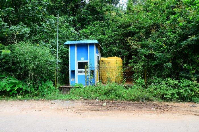 A Shuddha Ganga drinking water unit at Kurubakeri in Sringeri taluk.