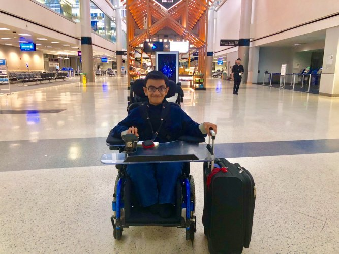 Sparsh Shah will be performing the national anthem 'Jana Gana Mana' on Sunday at the NRG Stadium in Houston, Texas, for the 'Howdy, Modi' event. (Photo: Twitter/Sparsh Shah-Purhythm)