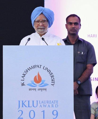 Former prime minister Manmohan Singh. PTI Photo