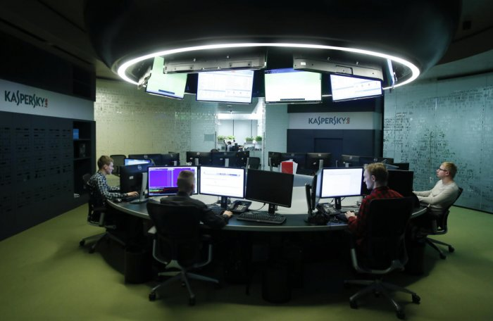 These views were expressed by top officials of the Kaspersky attending the three-day conference on Industrial Cyber Security here. (Reuters File Photo)