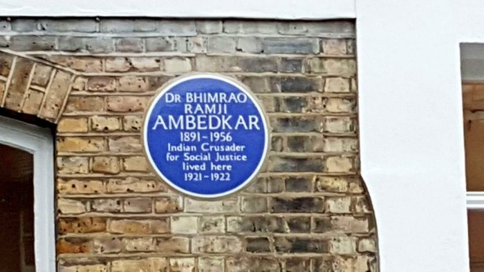 The Ambedkar House is a four-storey townhouse at 10 King Henry's Road in Camden area of north London. (Credit: Twitter)