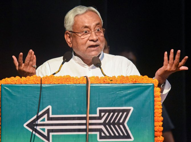 Bihar Chief Minister and JD(U) chief, Nitish Kumar (PTI File Photo)