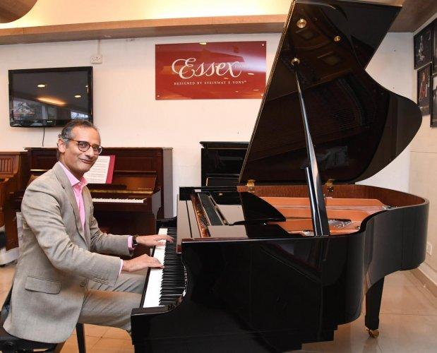 Karl Lutchmayer, British-Goan concert pianist, lecturer and writer.
