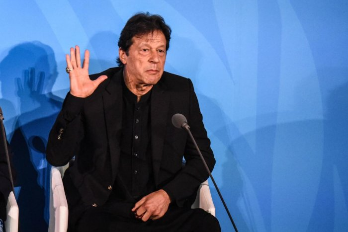 Prime Minister of Pakistan Imran Khan. (AFPP Photo)