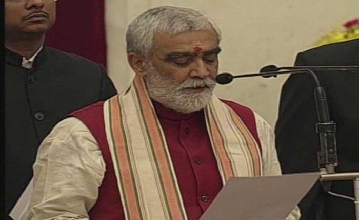Union Minister of State for Health, Ashwini Kumar Choubey (Photo/ANI)