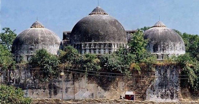 File picture of Babri Masjid. Photo credit: DH